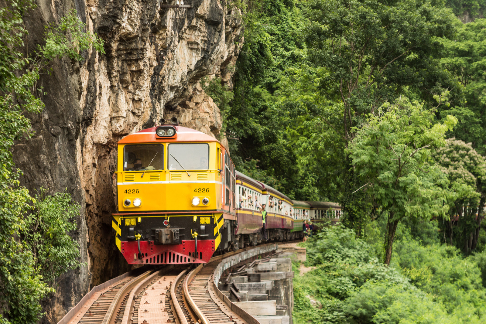 Kanchanaburi Day Tour - Khao Pun Caves, Death Railway, and more!